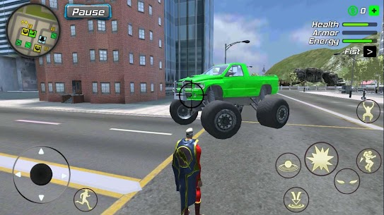 Amazing Powerhero : New York Gangster v1.0.1 MOD 3