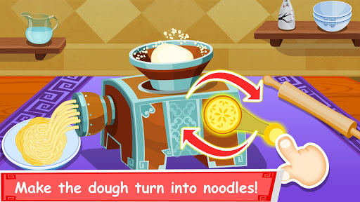 Panda Chef, Chinese Recipes-Cooking Game for Kids Apps (APK) gratis downloade til Android/PC/Windows screenshot