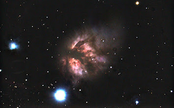 Photo: Here is the Flame Nebula from my recent trip to a dark sky site.  Technical details: 6x4 min exposures Stacked in DSS, stretched in photoshop Celestron C8 with focal reducer (f6.3) CGEM mount Orion autoguider Unmodified Canon t3i dslr