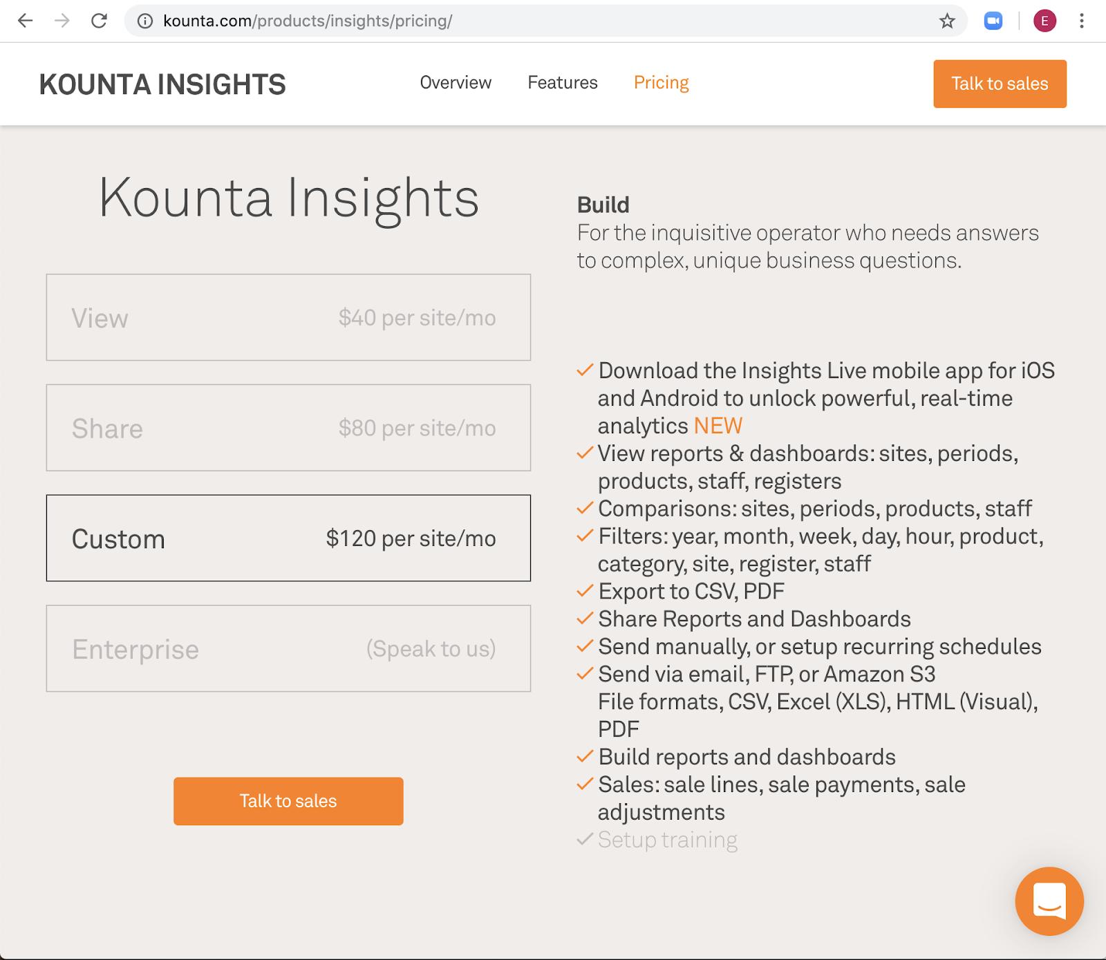 Kounta Insights