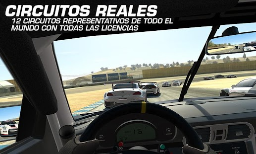 Real Racing 3: miniatura de captura de pantalla