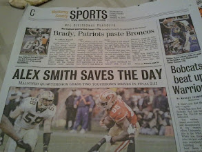 Photo: January 15: Who thought you would see this headline?