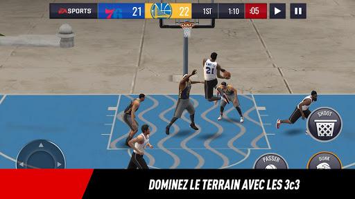 NBA LIVE Mobile Basket-ball  captures d'u00e9cran 1