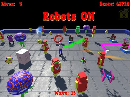 Robots ON- screenshot thumbnail