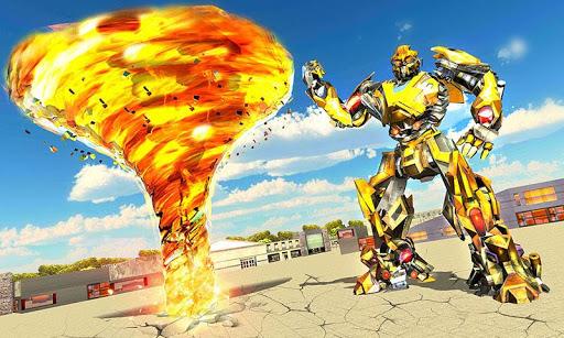 Tornado Robot Transforming: Future Robot Wars 1.0.6 {cheat|hack|gameplay|apk mod|resources generator} 5