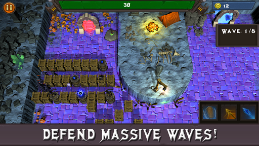 Fantasy Defense: Art of War Offline Defense screenshots 3