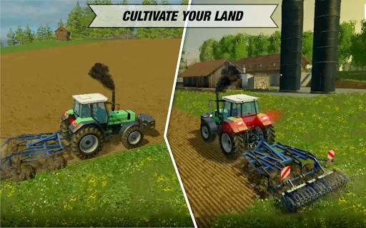 Tractor Cargo Transport: Farming Simulator apkpoly screenshots 15