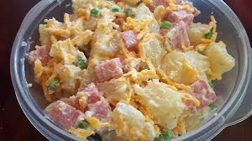 Ham & Cheese Potato Salad