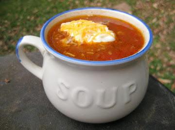 Taco Soup With Hominy Recipe