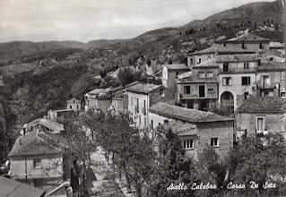 Photo: Corso De Seta Aiello Calabro, metà anni '50