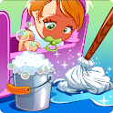 Baby Doll House - Best Decoration & Cleaning Game icon