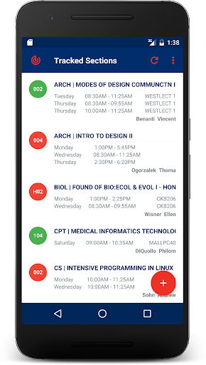 NJIT Course Tracker