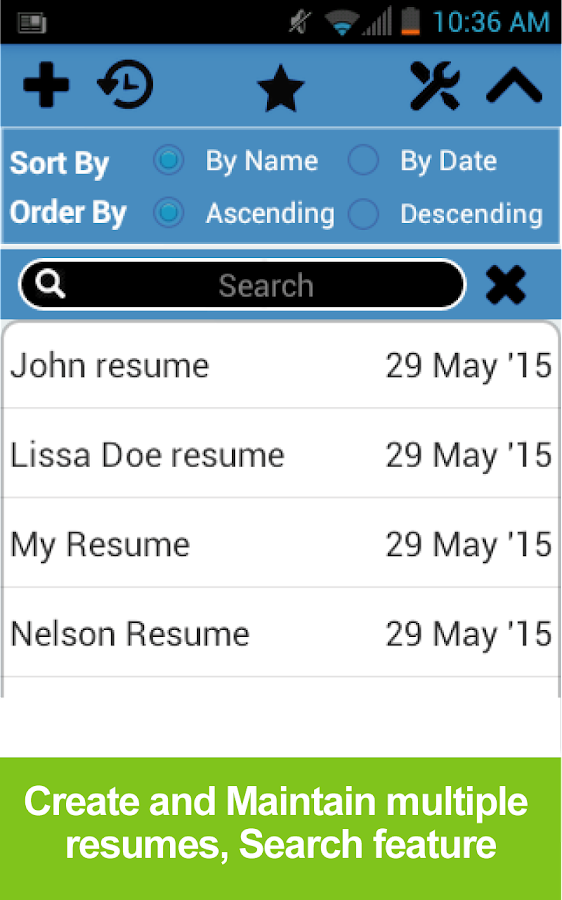Resume Builder Free   Android Apps On Google Play  Resume Builder App