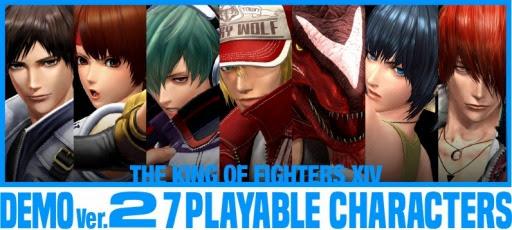 [The King of Fighters XIV] อัพเดทใหญ่ Ver.1.10 Demo Ver.2 เปิดให้ดาวน์โหลดแล้ว!