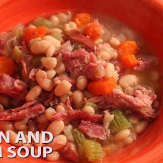 Crockpot Bean & Ham Soup