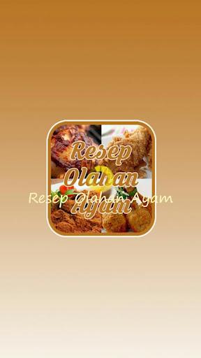 Resep Olahan Ayam