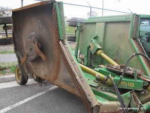 Photo: Lot 40 - (5337-1/2) - 2003 John Deere Bush Hog Model #1518