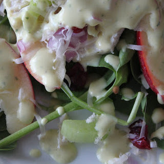 Chicken, Apple and Smoked Gouda Salad