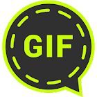 GIFs for Whatsapp by IXP.one icon