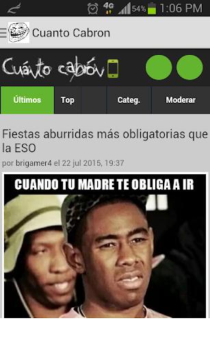 Cuanto Cabron - Memes