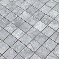 Mosaik Stockholm Aras Light grey Blank Marmor 5x5