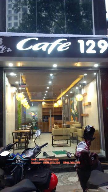thi công quán cafe 1