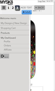 Mysk8design- screenshot thumbnail