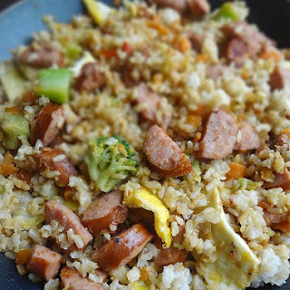 Smoked Sausage Fried Rice