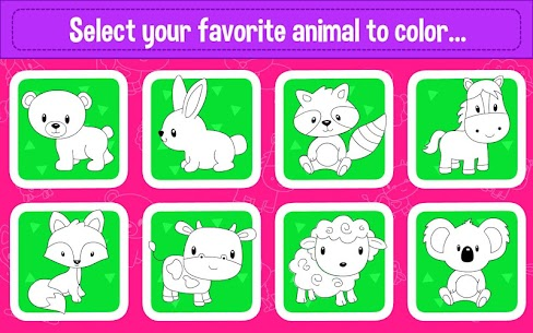 Learning & Coloring Game for Kids & Preschoolers 4