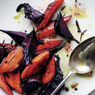 Rosemary-Roasted Beets and Carrots