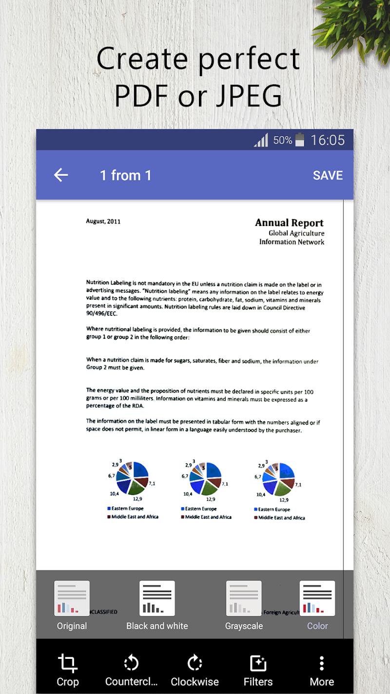 FineScanner Pro - PDF Document Scanner App + OCR Screenshot 1