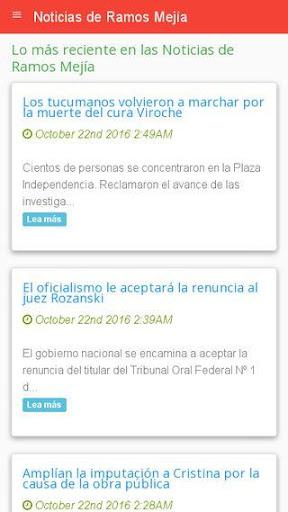 Noticias de Ramos Meju00eda  screenshots 2
