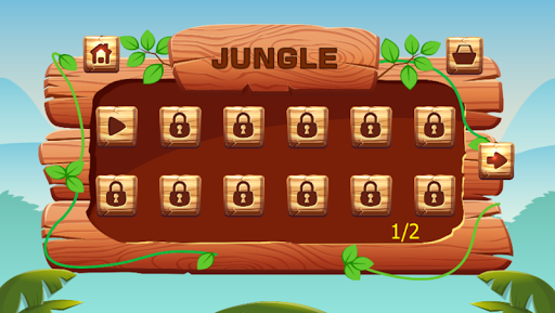 Ninja jump: Mutant kids adventure HD game apkmr screenshots 2
