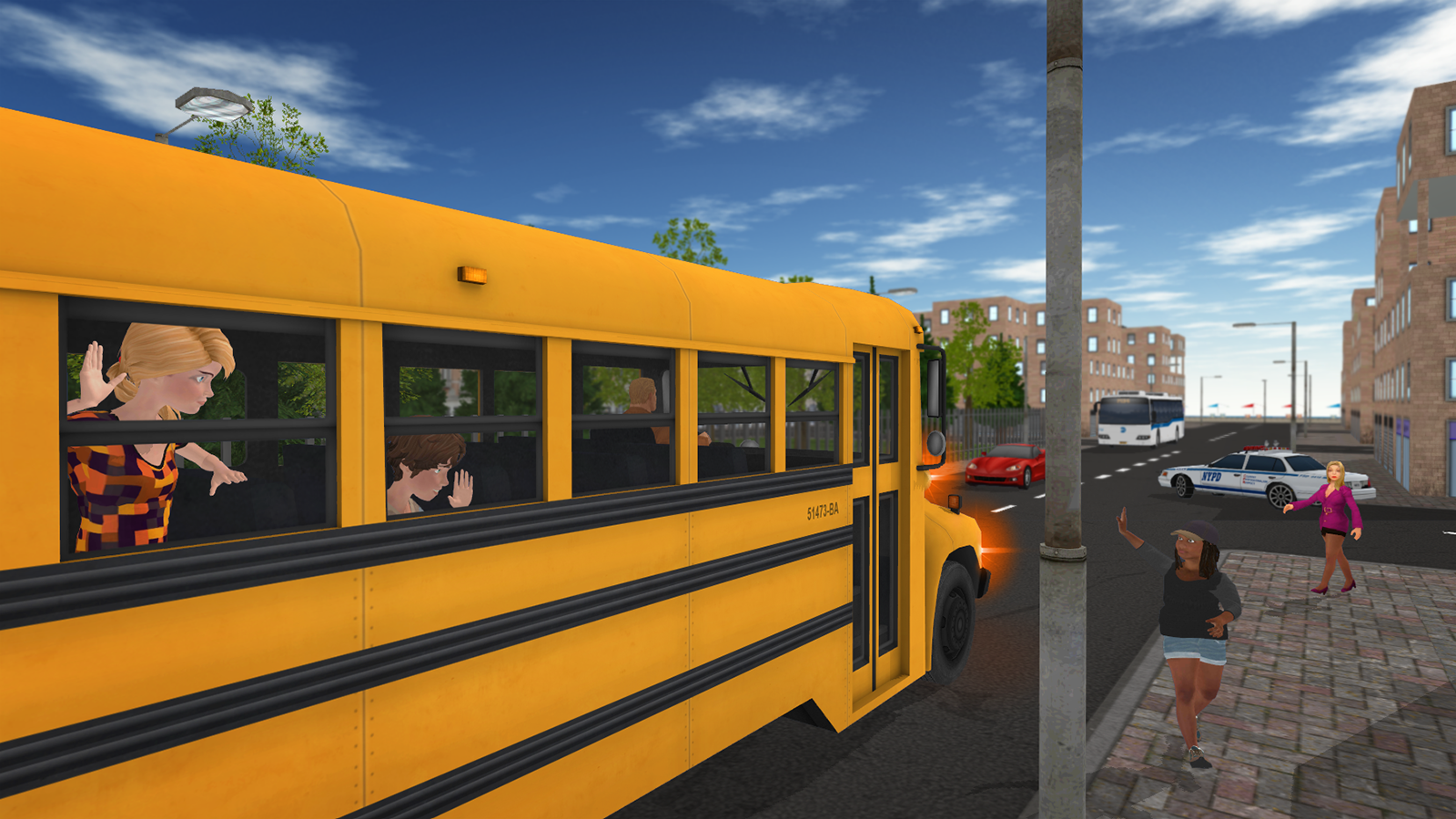 Cool Home Libraries School Bus Game Android Apps On Google Play