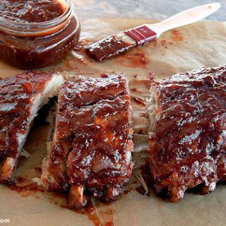 Honey Chipotle Glazed Ribs