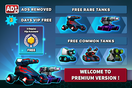 Tank Raid Online Premium MOD (Unlimited Lives) 1