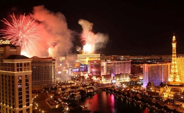 Réveillon em Las Vegas