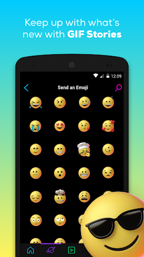 GIPHY: GIF & Sticker Keyboard & Maker 3.9.1 screenshots 5