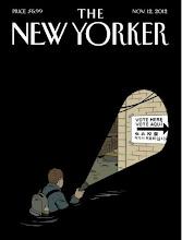 Photo: 纽约客封面:摸黑投票