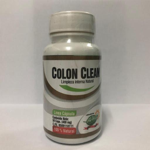 Laxante Hierbas Naturales Colon Clean Pro-Salud 400mg x 50 Capsulas