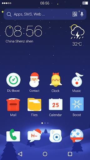 Christmas: DU Launcher Theme