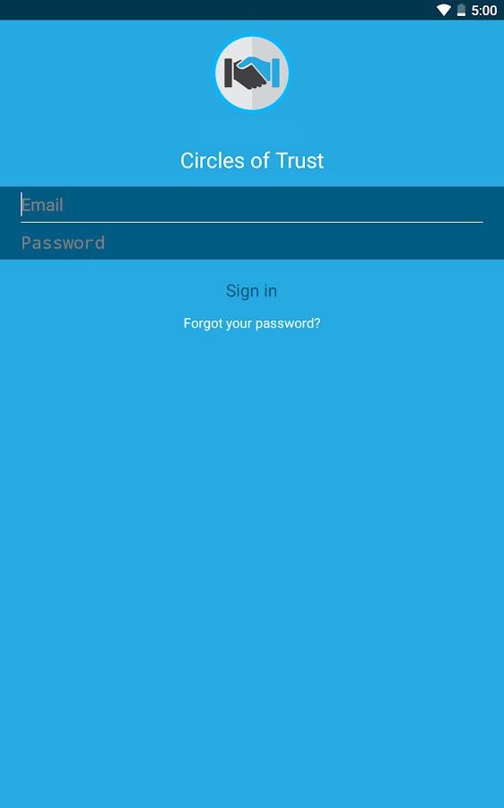 Circles of Trust- screenshot