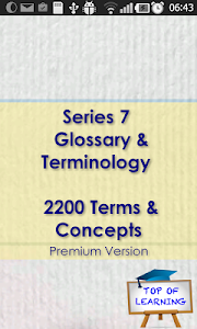 Series 7 Glossary & Concepts screenshot 0