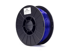 Translucent Blue PRO Series PLA Filament - 3.00mm