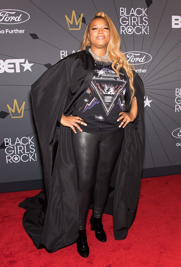 Queen Latifah at the 2018 BET Black Girls Rock! Awards.