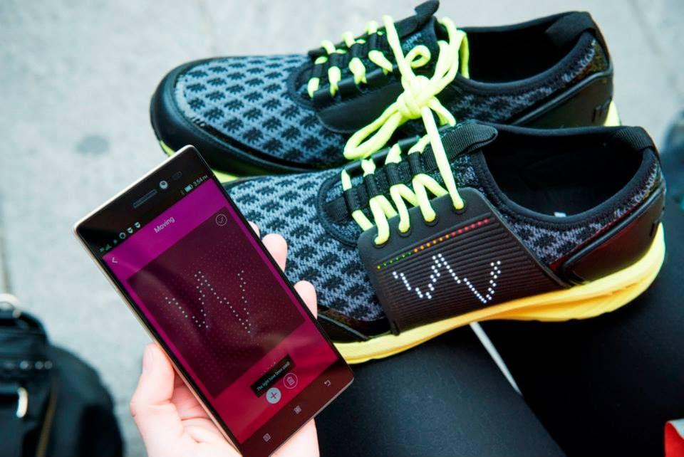 Vibram và Lenovo phát triển giày thông minh: theo dõi hoạt động và điều khiển game