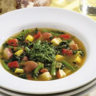 Spicy Vegetable Soup.