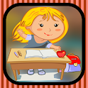 Tenses grammar games for kids icon
