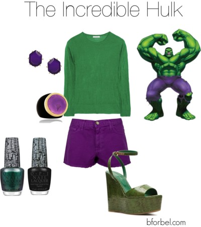 hulk avengers outfit idea