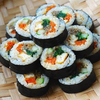 Tofu Gimbap.